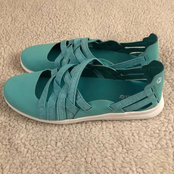 f27f64aa7613e7 MERRILL Flora Kye Weave Ballet Slip-on Sneakers